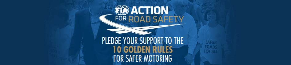 10 reglas de oro FIA Action Road Safety Consorcio Aristos